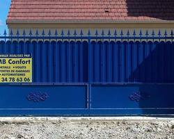 LMB Confort - Saint-Martin-La-Garenne - Portail fer